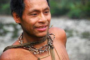 La expansión del proyecto gasístico de Camisea amenaza las vidas de indígenas no contactados y aislados como los nantis, altamente vulnerables. © Survival International