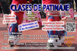 2013_09_12 Cartel clases Alhaurin 2013-2014_r