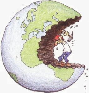 Destruyendo el medioambiente