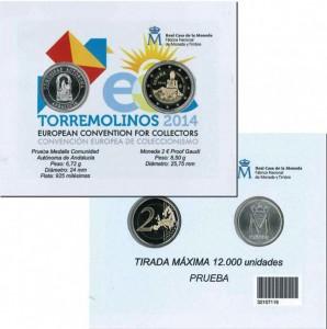 Monedas en ECC 2014