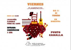 viernes flamencos