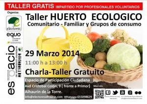 taller huerto gratis