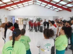 preparativos aniversario Escuela Taller