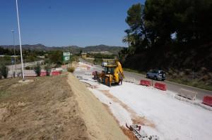 Obras acceso Peralta1