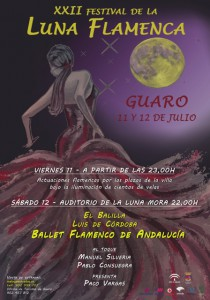 cartel luna flamenca