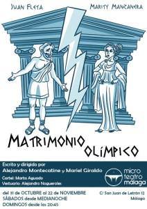 Matrimonio Olimpico - cartel
