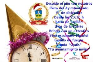 cartel Nochevieja