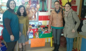 donacion alimentos guarderia san sebastian