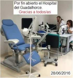 Abierto Hospital Guadalhorce