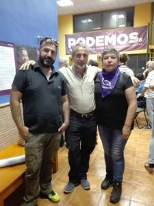 mienbros del Circulo de Alhaurin de la Torre Podemos